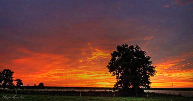 Crépuscule d'automne