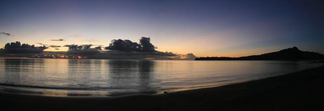 Crépuscule Maorais