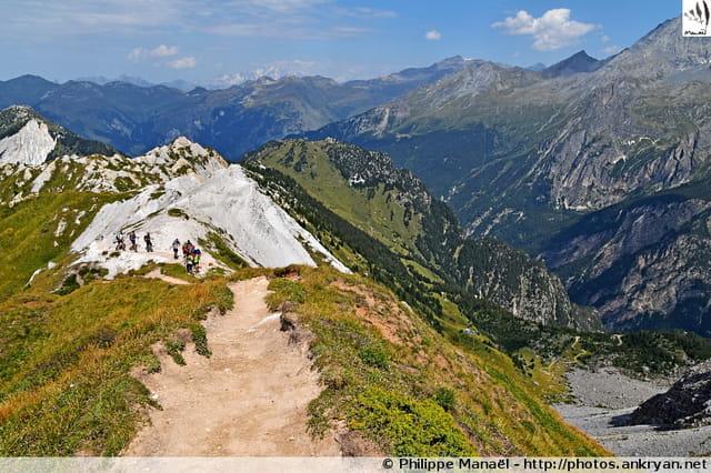 Crête du Mont Charvet (Vanoise)