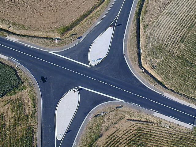 Croisement de route