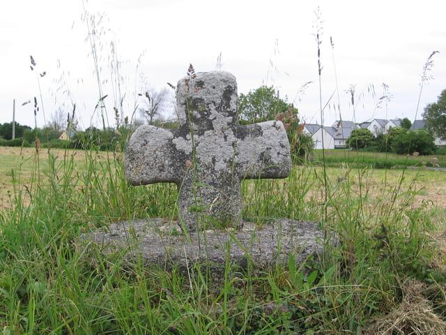 Croix dans les herbes