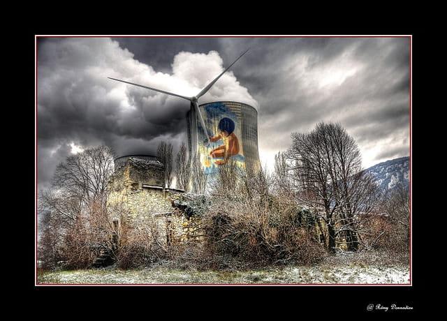 Cruas site nucléaire