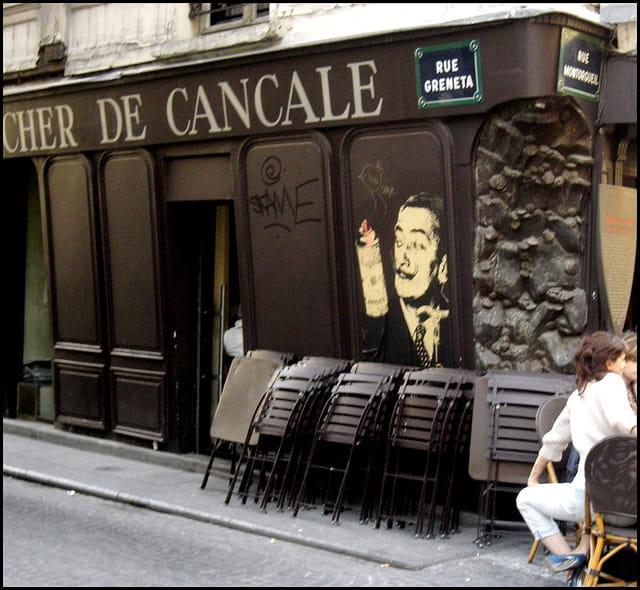 Dali, rue Greneta