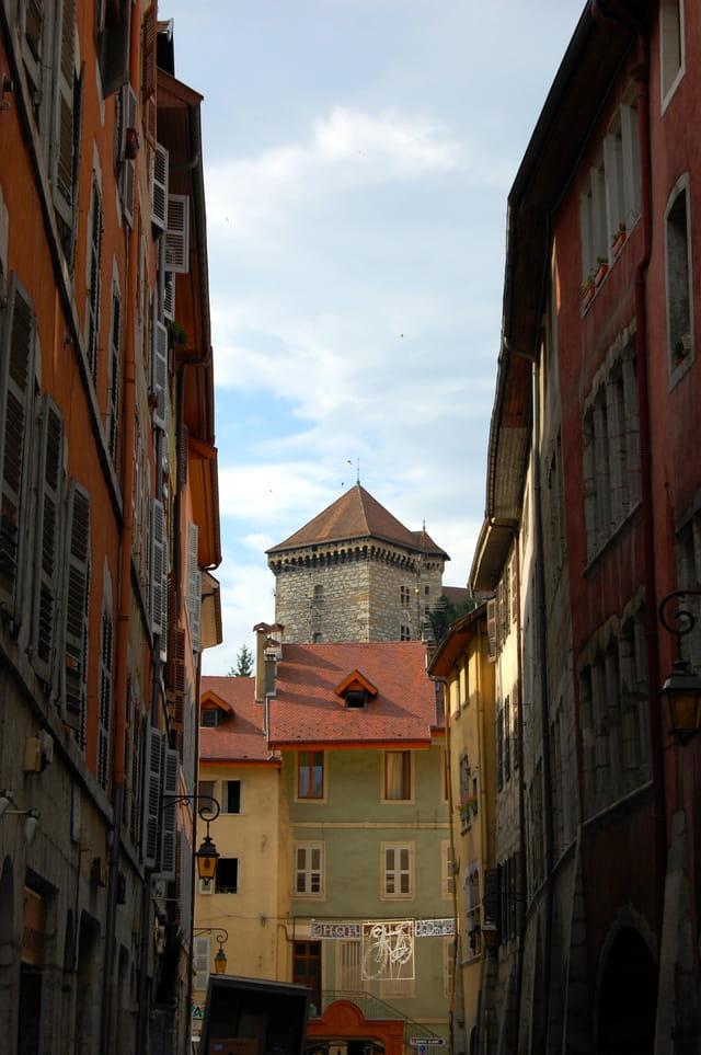 Dans la vieille ville