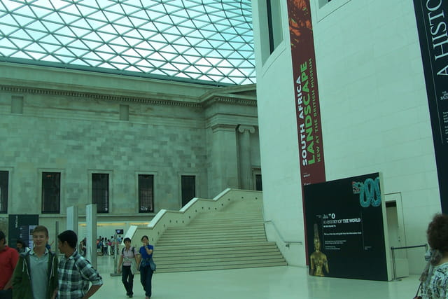 Dans le British Muséum