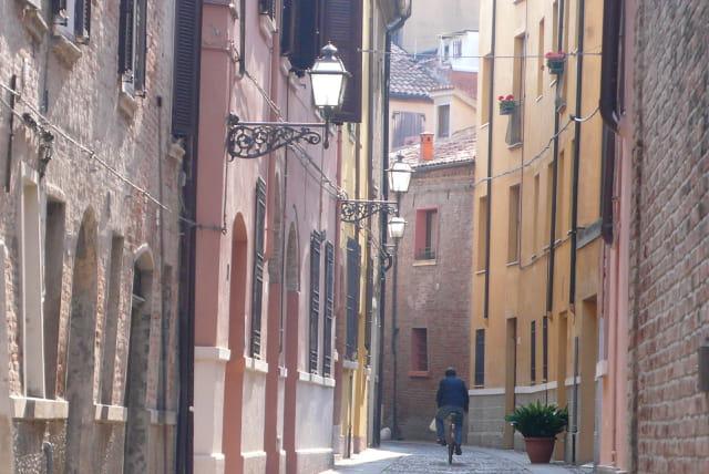 Dans le Ghetto de Ferrara