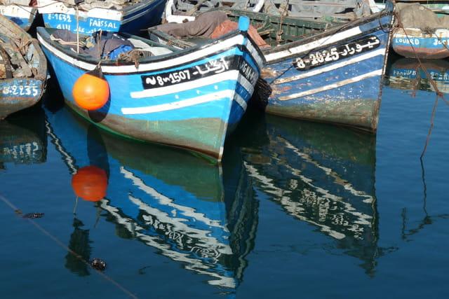 Dans le port d'Agadir