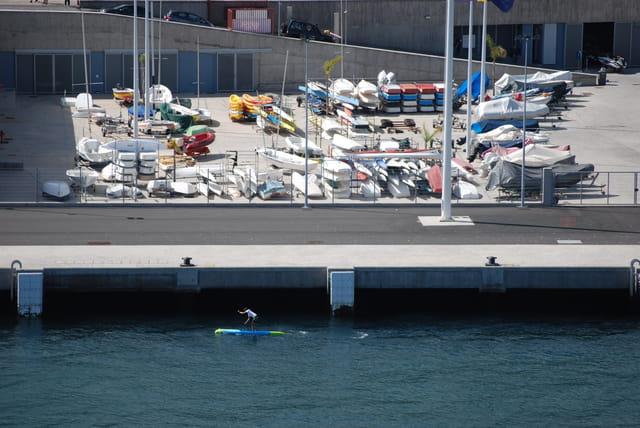 dans le port de Funchal