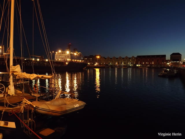 Dans le port de Galway