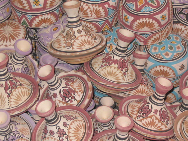 Dans une poterie