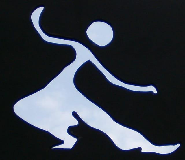 Danseur au travers du ciel