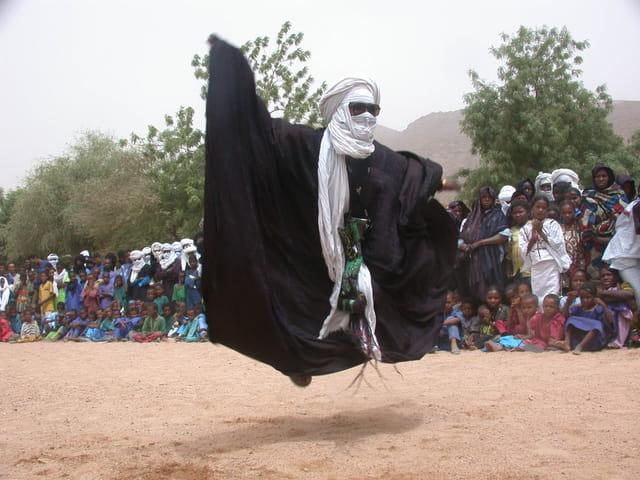 Danseur touareg