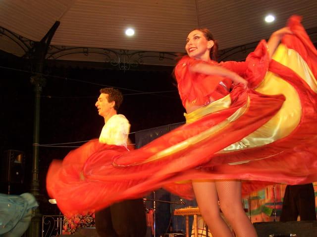 Danseuse flamenco.