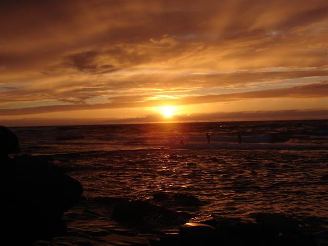 Darbouazza sun set