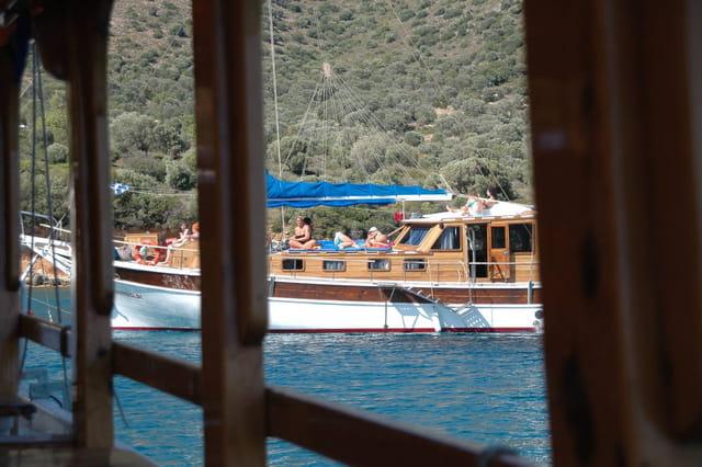 De bateau à bateau