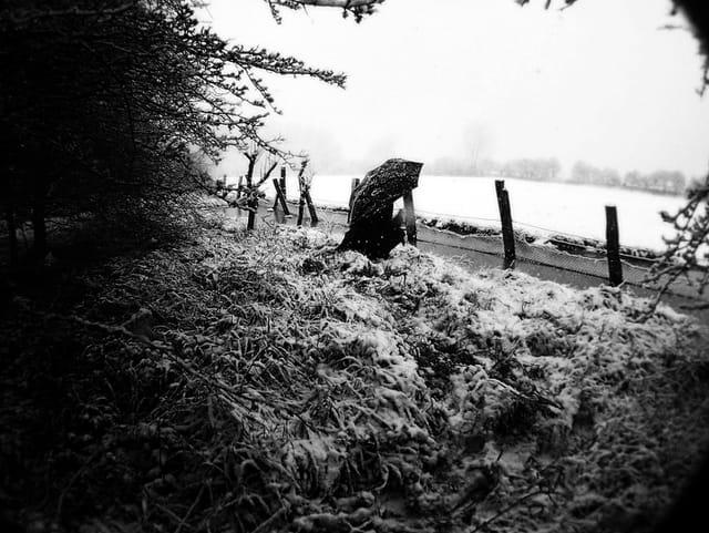 De la neige au mois de mars