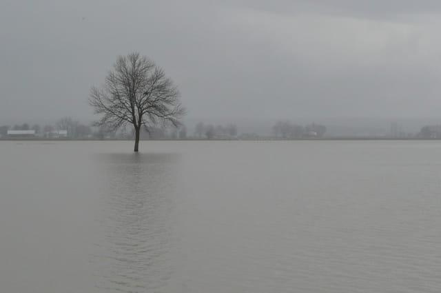 Débordement du Fleuve Saint-Laurent