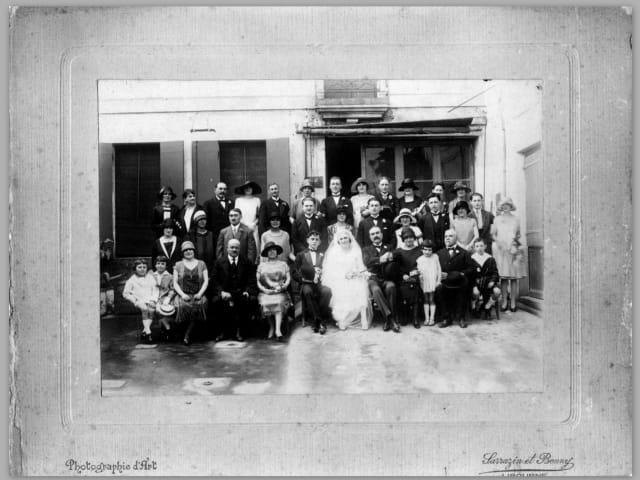1926 Camille et Jeanne Niollet se sont mariés.