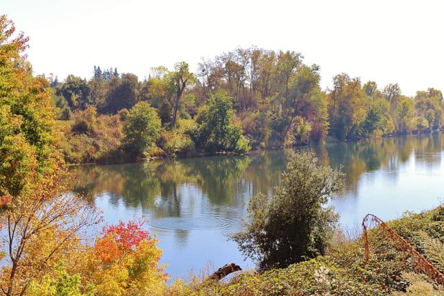 Début d'automne sur l'American River
