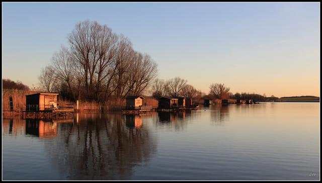 Début de soirée aux étangs.