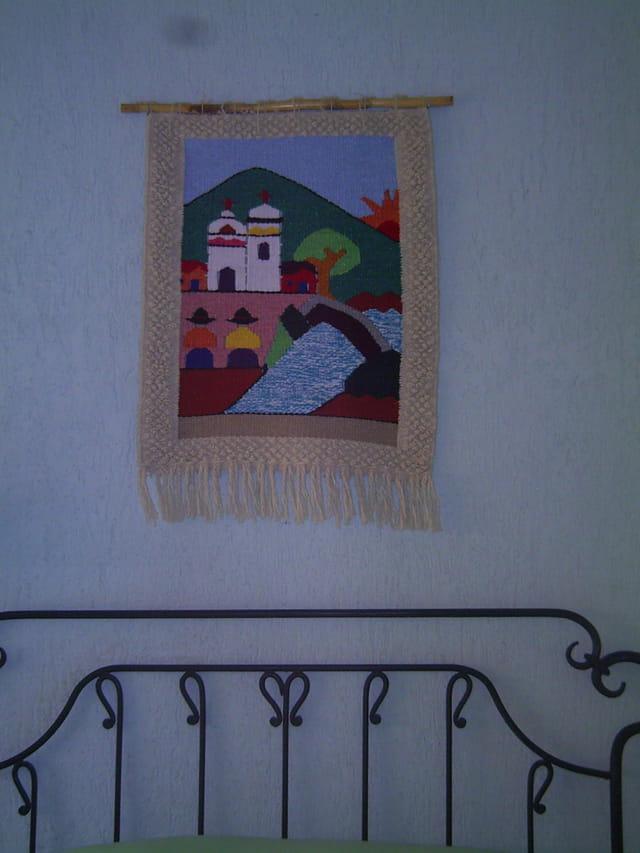 d coration murale mexicaine par genevieve lapoux sur l 39 internaute. Black Bedroom Furniture Sets. Home Design Ideas