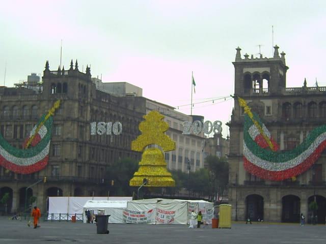 Décorations pour l'Indépendance du Mexique