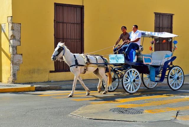Découvrir Mérida en calèche...