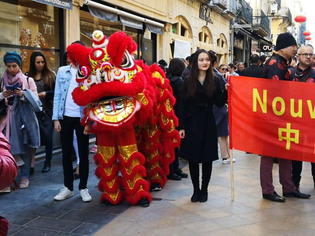 défilé du Nouvel An chinois à Bordeaux