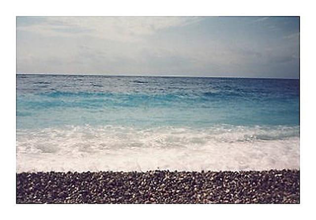 Dégradé de mer