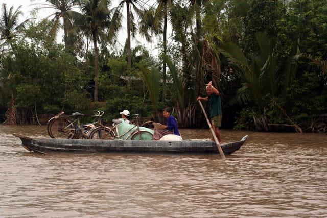 Delta du Mekong - circulation