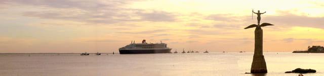 Départ du Queen Mary 2