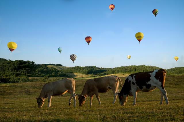 Départ montgolfières Mirande