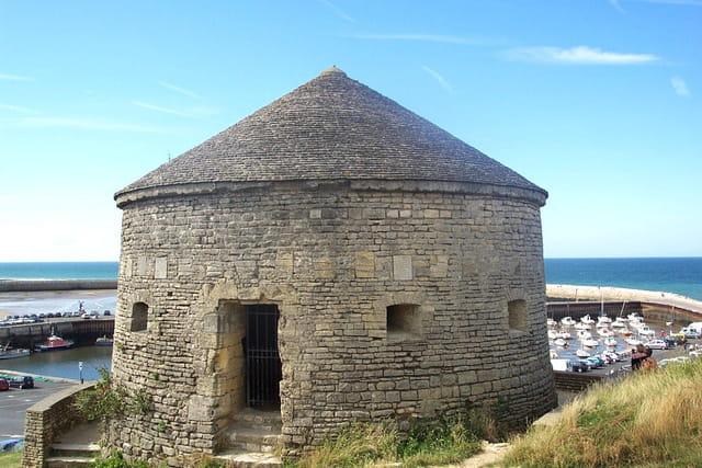Depuis l'an 1694 la tour vauban