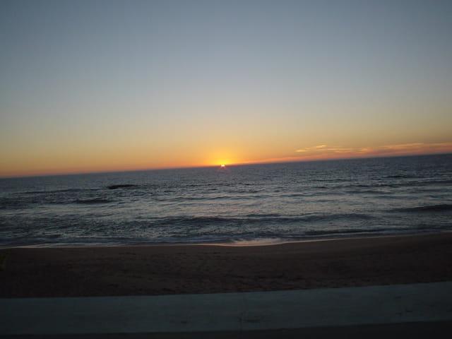 Dernier minute coucher  du soleil