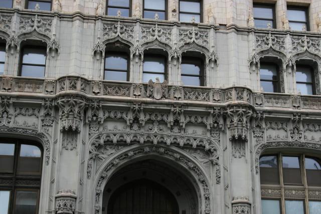 Des immeubles comme des cathédrales
