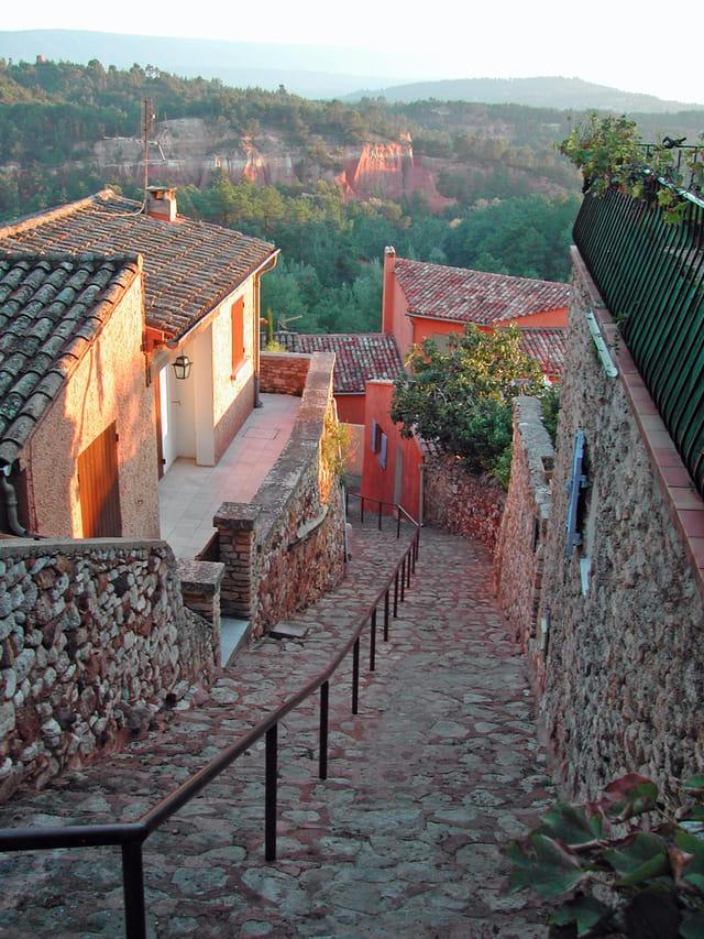 Descente à Roussillon