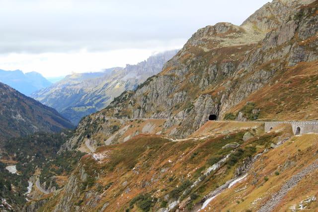 Descente du Col du Susten