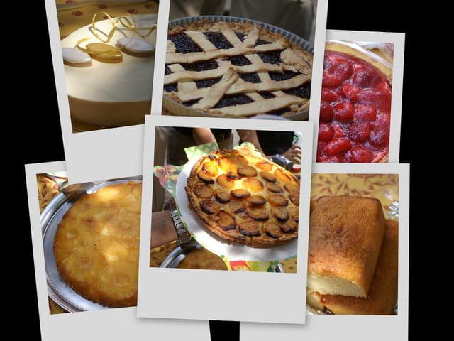 Desserts de fête des mères