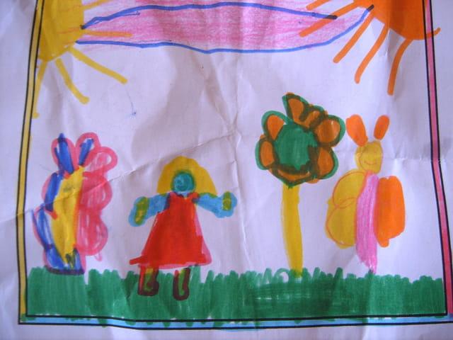 Dessin d'angela, 5 ans
