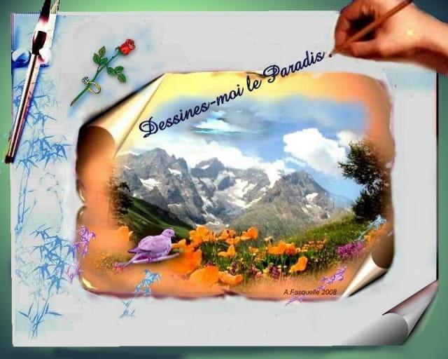 dessines- moi le paradis