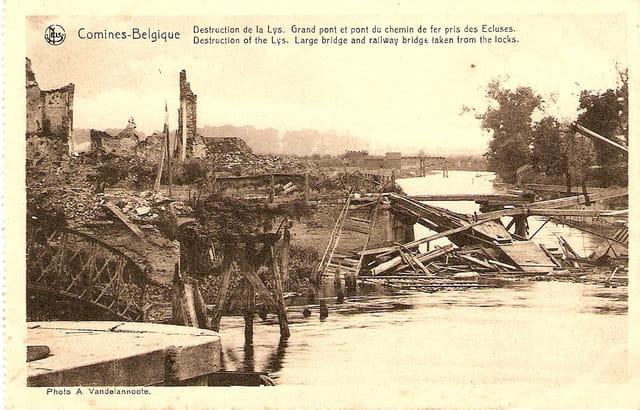 Destruction de la Lys