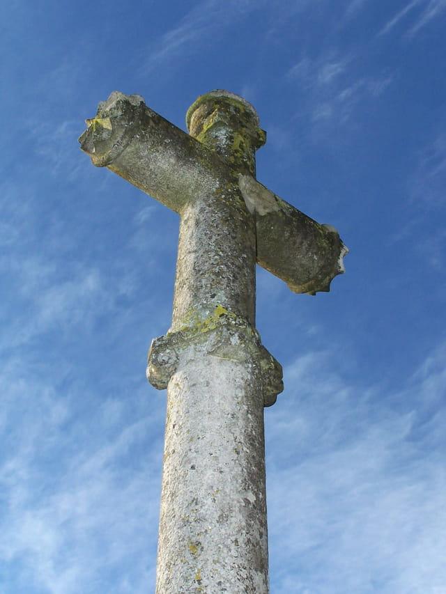 Détail d'une croix de chatellenot