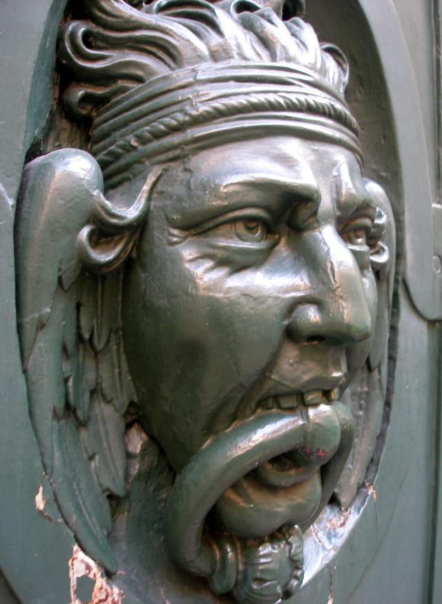 Détails de portes , Hôtel de Saint Aignan