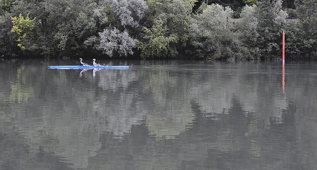 Deux sur l'eau