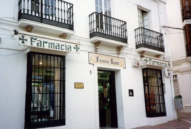 Devanture de pharmacie