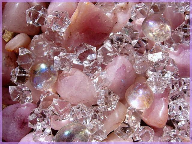 Diamants-quartz