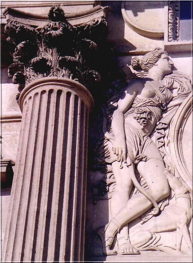 Diane chasseresse (bas-relief)