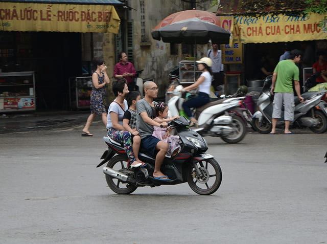 Dimanche matin à Hanoi