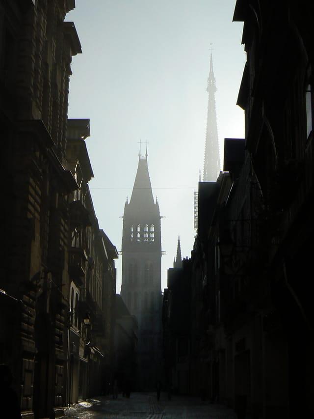 Dimanche matin à Rouen