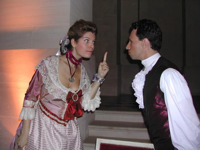 Dispute de courtisans à Versailles